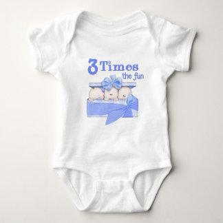 Triplets Baby Bodysuit