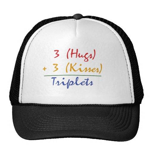 Triplets Math Trucker Hat