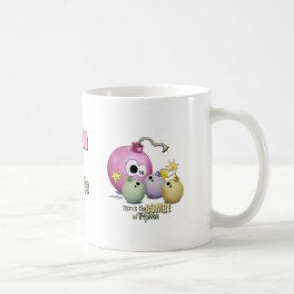 Triplets Mom's the Bomb mug