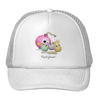 Triplets - Mom's the Bomb Trucker Hat