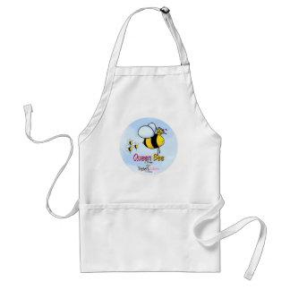 Triplets Queen Bee aka Mom apron