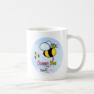 Triplet's Queen Bee aka Mom mug