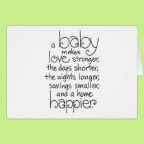 TRIPLETS TRIPLE THE JOYS OF PARENTHOOD CARD