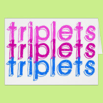 Triplets Two & One Card