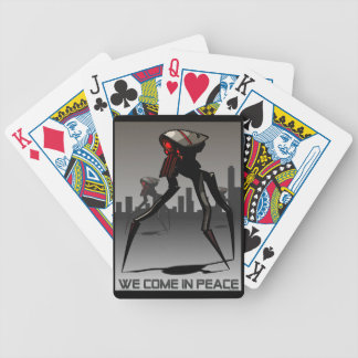 Tripod Bicycle Playing Cards