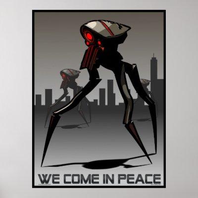 war of the worlds alien tripod. alien tripod war machine.