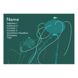 Trípode - rechoncho plantilla de tarjeta personal