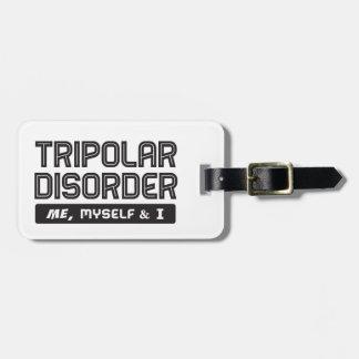 Tripolar – Me, Myself & I Luggage Tag