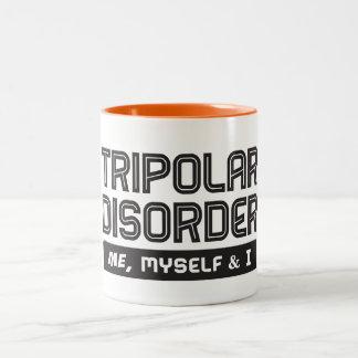 Tripolar – Me, Myself & I Two-Tone Coffee Mug