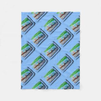 Tripolarize 917 - Artwork Jean - Louis Glineur Fleece Blanket