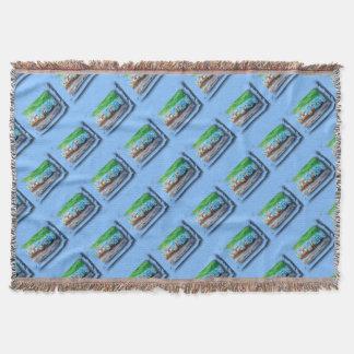 Tripolarize 917 - Artwork Jean - Louis Glineur Throw Blanket