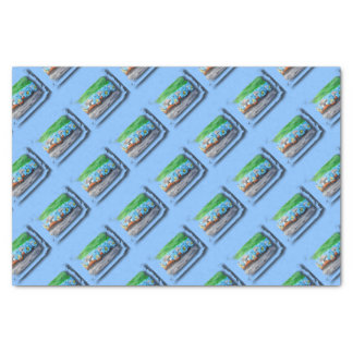 Tripolarize 917 - Artwork Jean - Louis Glineur Tissue Paper