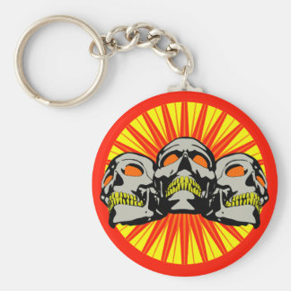 Tripolarize Skulls Key Chains