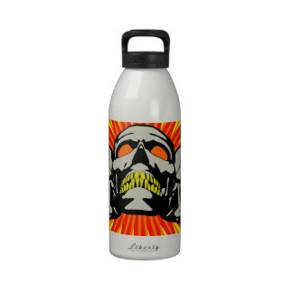 Tripolarize Skulls Water Bottle