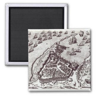 Tripoli, c.1550 | 2 inch square magnet
