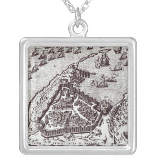 Tripoli, c.1550 | silver plated necklace