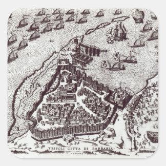 Tripoli, c.1550 | square sticker