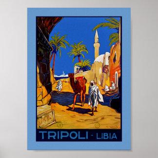 Trípoli - Libia (Libia) Póster