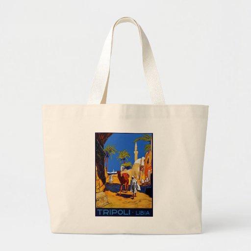 Tripoli - Libia (Libya) Large Tote Bag