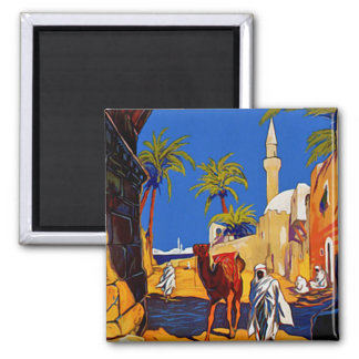 Tripoli - Libia (Libya) 2 Inch Square Magnet