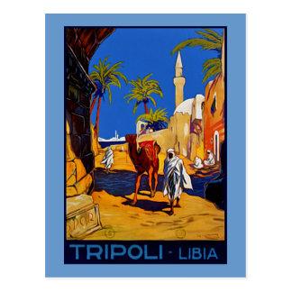 Tripoli - Libia (Libya) Postcard