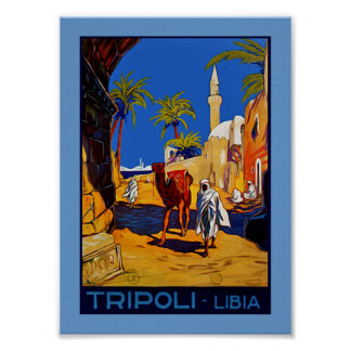 Tripoli - Libia (Libya) Poster