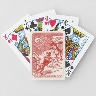 Tripp y exprimidor baraja cartas de poker