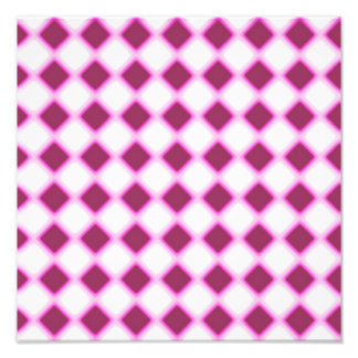 Tripped Out Checkers Art Photo