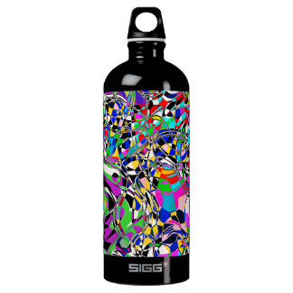 TRIPPED OUT COLORS ALUMINUM WATER BOTTLE