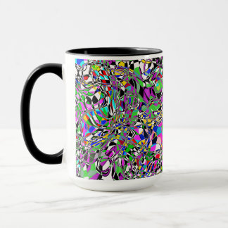 TRIPPED OUT COLORS MUG