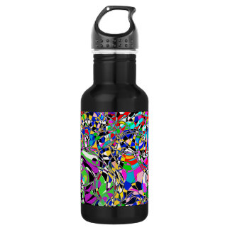TRIPPED OUT COLORS WATER BOTTLE