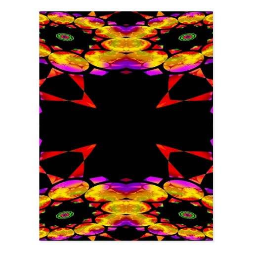 Trippin Kaleidoscope2 Tarjeta Postal