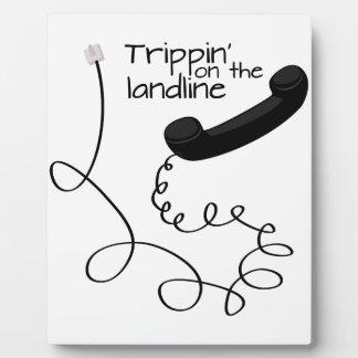 Trippin' on The Landline Plaque