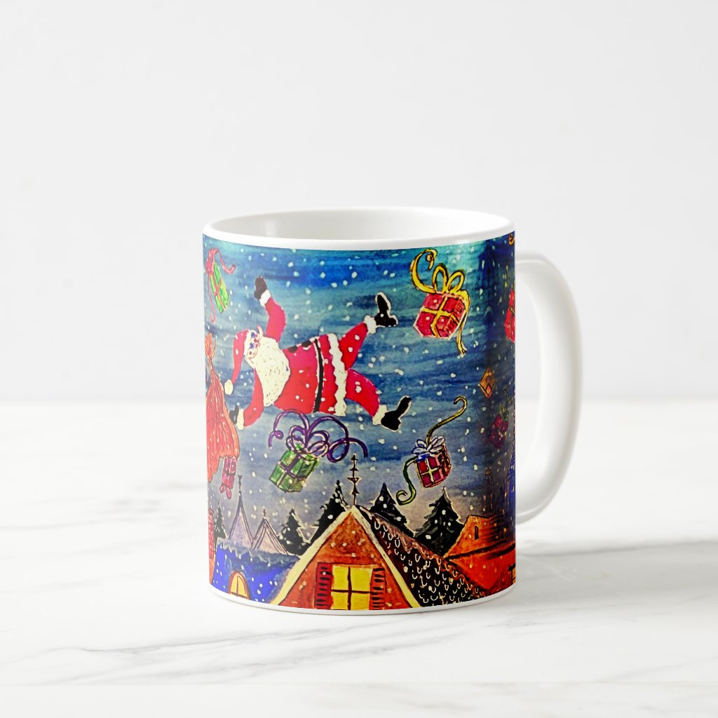 Trippin' Santa Claus Coffee Mug