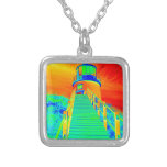 Trippin Seaside Silver Plated Necklace
