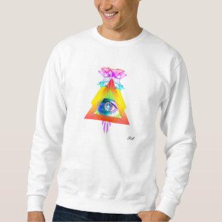 Trippin triangle sweatshirt