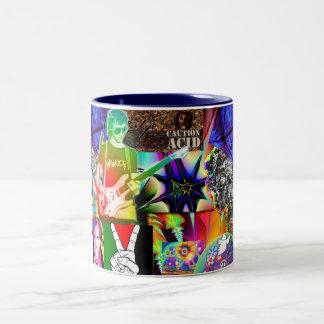 Trippin Two-Tone Coffee Mug