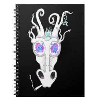 tripping festival dragon notebook