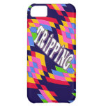 Tripping in Style: Retro Psychedelic Design iPhone 5C Cover