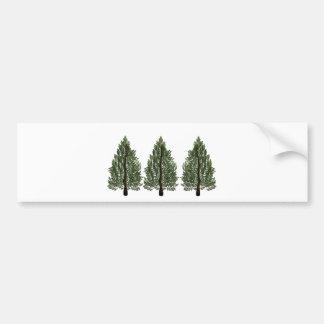 Tripple Pines Bumper Sticker