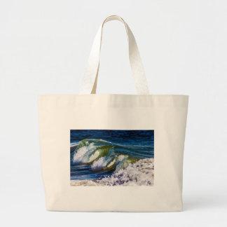 Tripple Wave Large Tote Bag