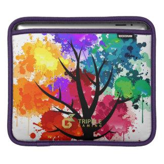 TrippleGaming - iPad sleeve - colourful tree
