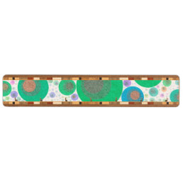 Trippy Abstract Bubble Pattern Key Holder