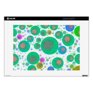 Trippy Abstract Bubble Pattern Laptop Skin