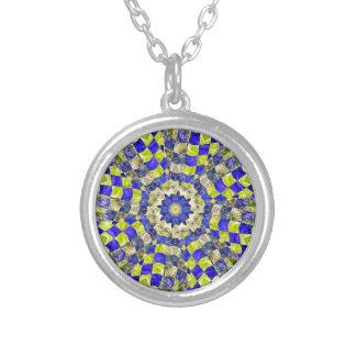 Trippy Algae Quilt Feb 2013 Personalized Necklace