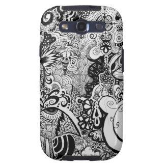 Trippy Art Design Galaxy S3 Cover