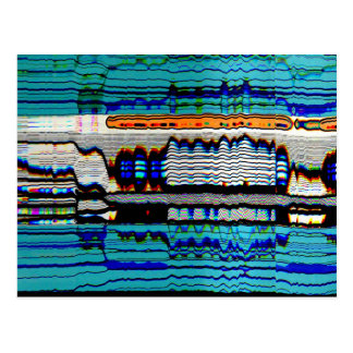 Trippy Art Post Card