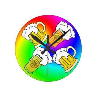 Trippy Beer Clock
