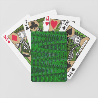 trippy bicycle playing cards