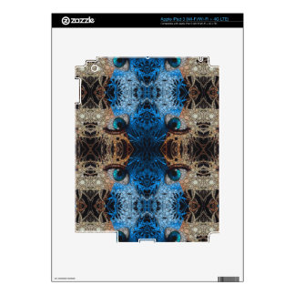Trippy Blue Eye Abstract Skin For iPad 3